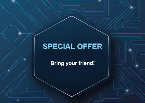 Special offer! Refer a friend – get money